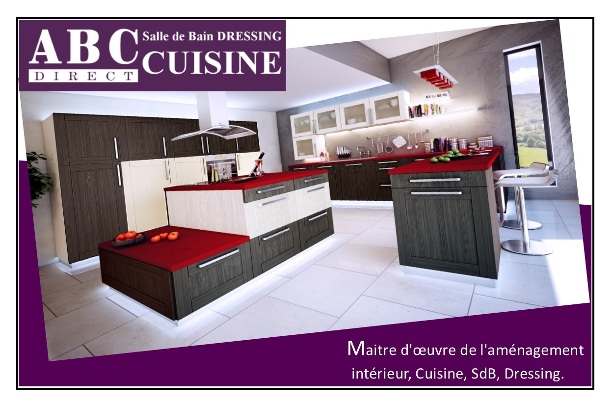 abc direct cuisine menuisier caen. Black Bedroom Furniture Sets. Home Design Ideas